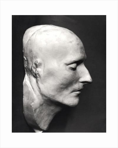 Death mask of Napoleon Bonaparte by French School