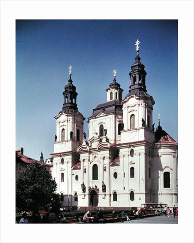 The Church of St. Nicholas by Czech School