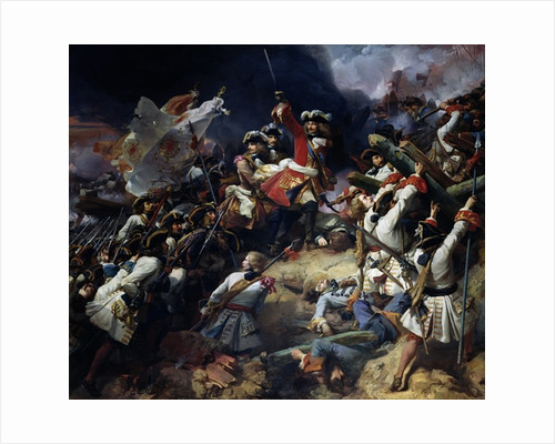 Battle of Denain by Jean Alaux