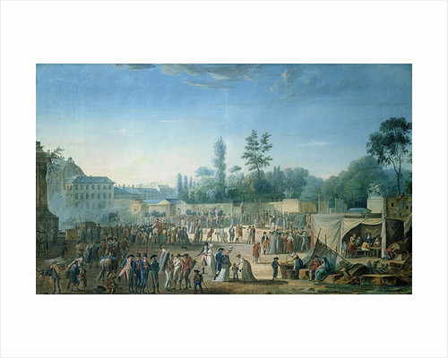 View of the Tuileries from the Place de la Revolution by Thomas Naudet