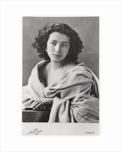 Sarah Bernhardt in costume by Nadar