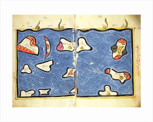 The Indian Ocean by Abu Muhammad Al-Idrisi or Edrisi