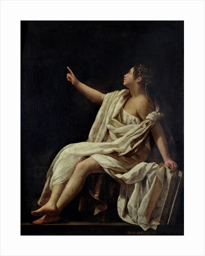 Polyhymnia, the Muse of Lyric Poetry by Giovanni Baglione