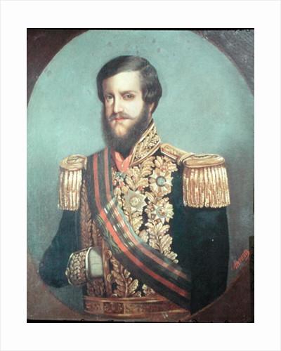 Pedro II Emperor of Brazil by Luis de Miranda Pereira Visconde de Menezes