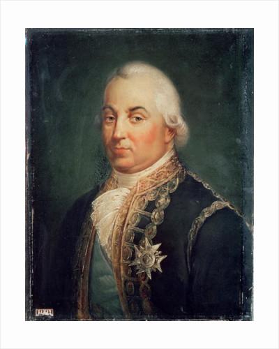 Pierre de Suffren-Saint-Tropez Vice Admiral of France by Francois Vincent Mathieu Latil