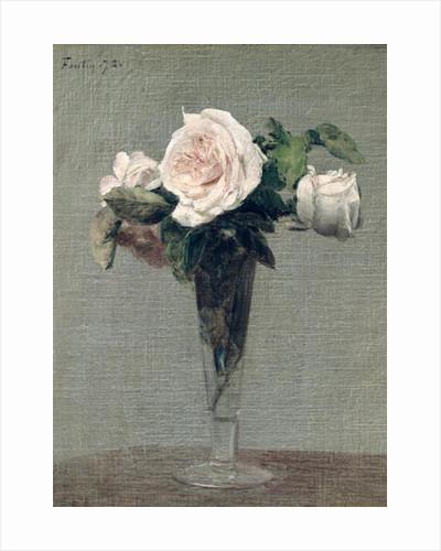 Flowers by Ignace Henri Jean Fantin-Latour