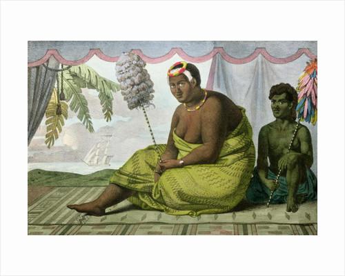 Ka'ahumanu, Queen of the Sandwich Islands by Ludwig Choris