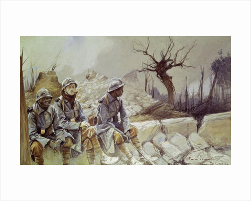 Dampierre, July 1916 by Francois Flameng
