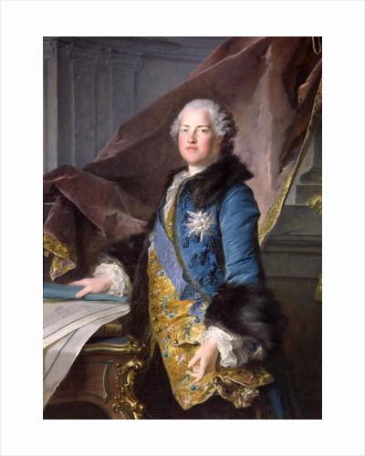 Abel Francois Poisson Marquis de Marigny by Louis M. Tocque