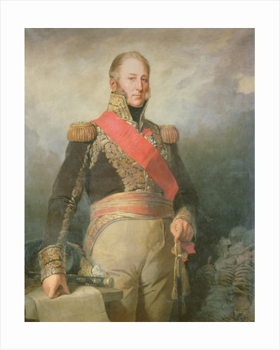 Edouard Adolphe Casimir Joseph Mortier Duke of Treviso and Marshal of France by French School
