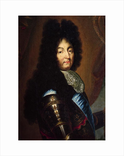 Louis XIV by Hyacinthe Francois Rigaud