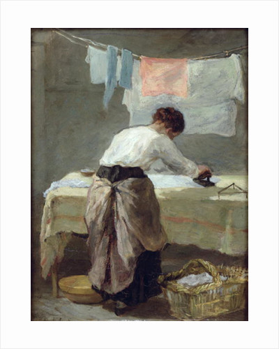 Woman Ironing by Armand-Desire Gautier