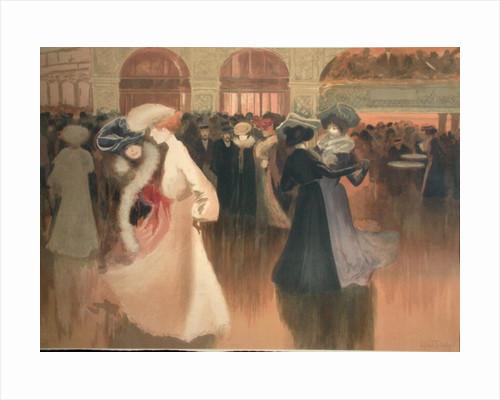 A Ball in Paris by Abel-Truchet