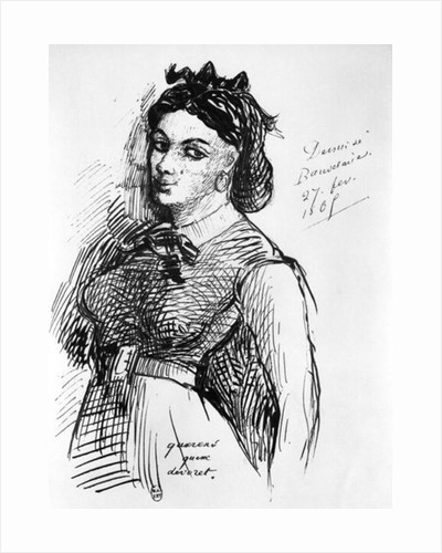 Jeanne Duval by Charles Pierre Baudelaire