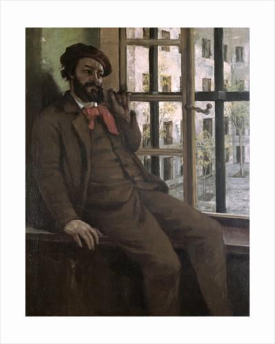 Self Portrait at Sainte-Pelagie by Gustave Courbet