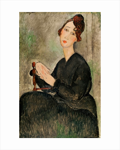 Portrait of Dedie Hayden by Amedeo Modigliani