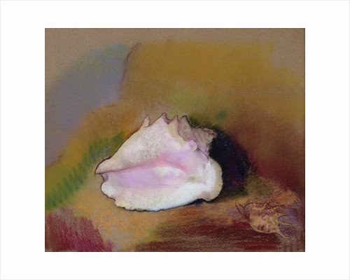 The Shell by Odilon Redon
