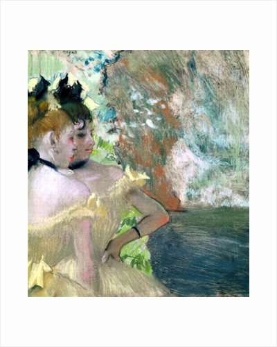 Dancers in the Wings by Edgar Degas