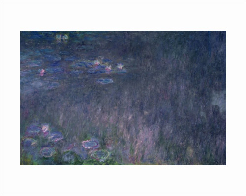 Waterlilies: Reflections of Trees by Claude Monet
