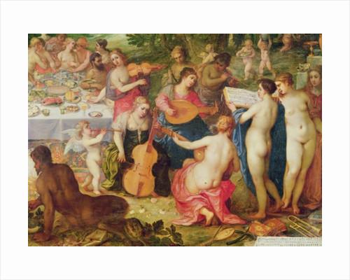 The Banquet of the Gods by Hendrik van the Elder Balen