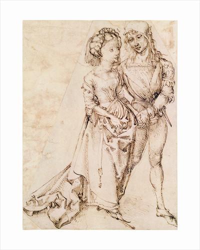 A Young Couple by Albrecht Dürer or Duerer