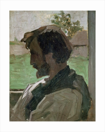 Self Portrait at Saint-Saveur by Jean Frederic Bazille