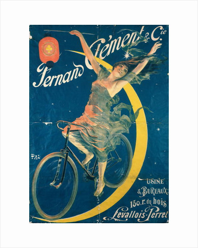 Poster advertising 'Fernand Clement' bicycles by Pal