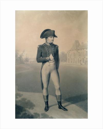Napoleon Bonaparte First Consul at Malmaison by Jean-Baptiste Isabey