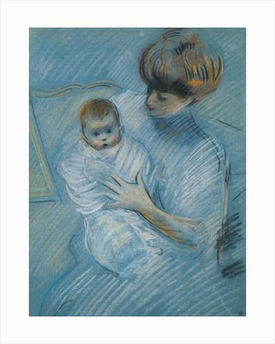 Maternity by Paul Cesar Helleu