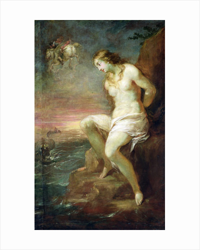 Perseus Rescuing Andromeda by Michael Leopold Willmann
