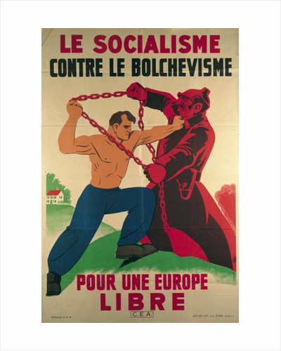 'Socialism Against Bolshevism for a Free Europe' by French School