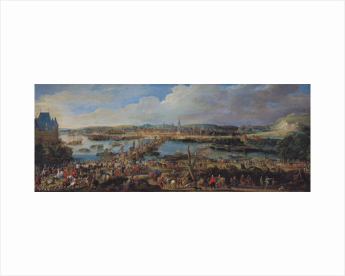 View of Rouen from Saint-Sever by Pierre-Denis Martin