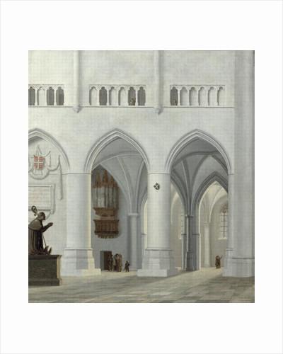 Interior of the Church of St. Bavo, Haarlem by Pieter Jansz Saenredam