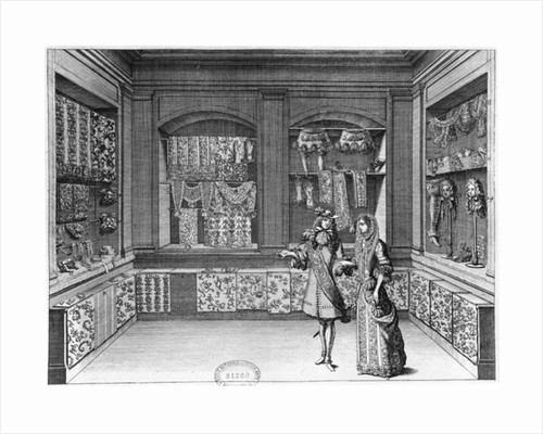The Shop of Galanteries by Jean II Berain