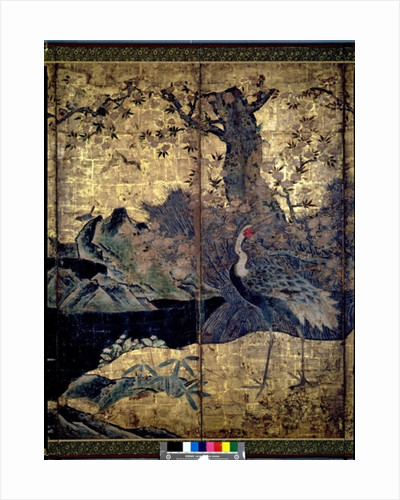 Birds and Flowers of the Four Seasons by Kano Soshu