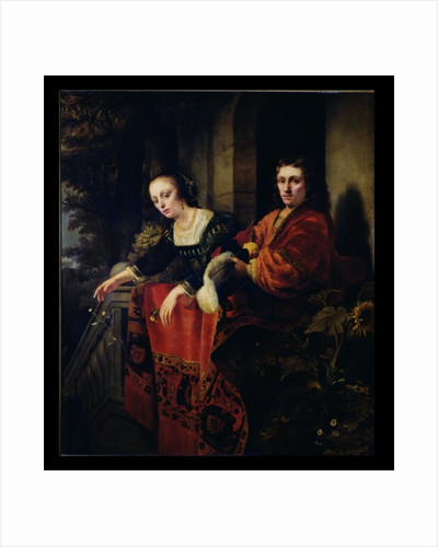 Portrait of a Husband and Wife by Ferdinand Bol