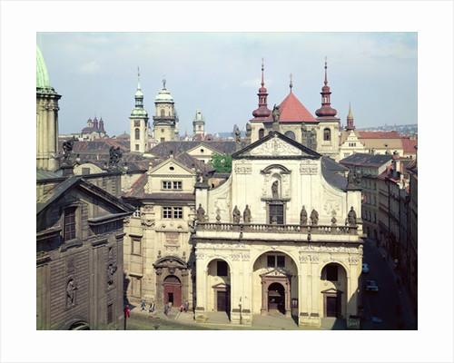 The Church of St. Saviour in Krizovnice Namesti, Prague, Czech Republic, built 1578-1601 by Anonymous