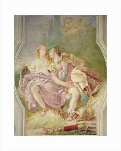 Rinaldo Enchanted by Armida by Giovanni Battista Tiepolo