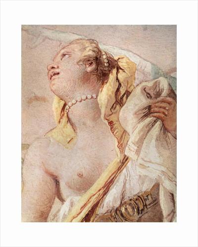 Rinaldo Abandoning Armida, detail of Armida by Giovanni Battista Tiepolo