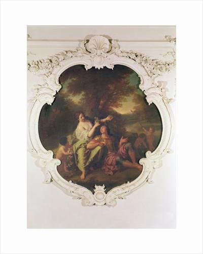 Rinaldo and Armida by Henri Antoine de Favanne