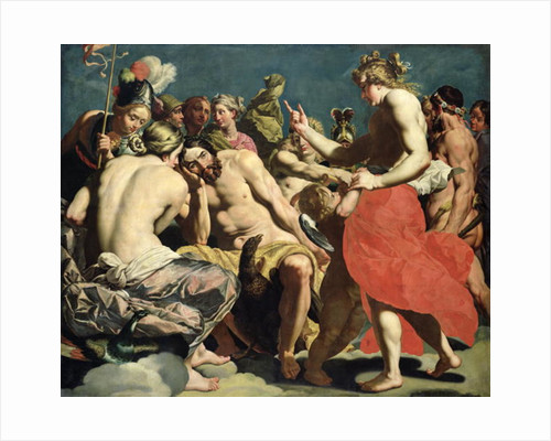 The Gods of Olympus by Abraham Janssens van Nuyssen