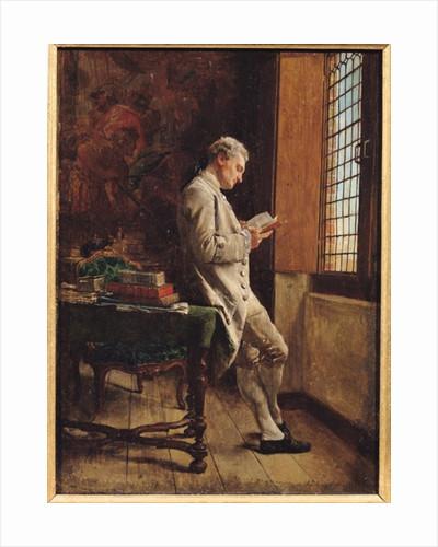 The Reader in White by Jean-Louis Ernest Meissonier