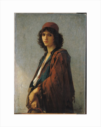 Young Bohemian Serb by Charles Landelle