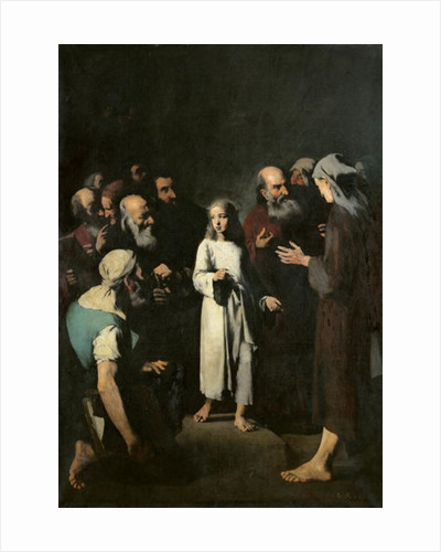 Jesus with the Doctors by Auguste Theodule Ribot