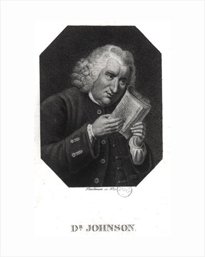 Dr. Samuel Johnson by Auguste Christian Fleischmann
