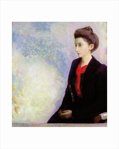 Portrait of Baroness Robert de Domecy by Odilon Redon