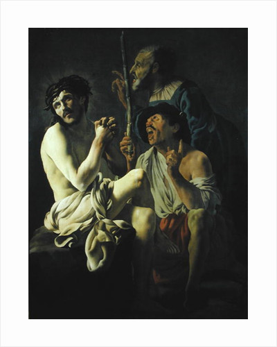 The Mocking of Christ by Hendrick Ter Brugghen