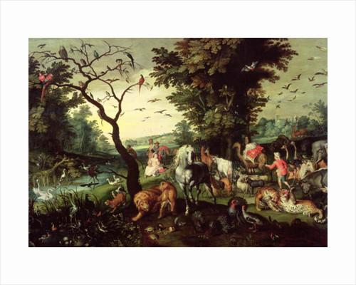The Animals Entering Noah's Ark by Jan the Elder Brueghel