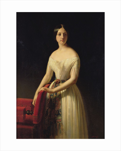 Eugenie Saint-Amand by Claude-Marie Dubufe