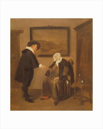 The Consultation by Quiringh Gerritsz. van Brekelenkam